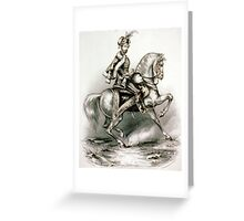 Genl. Gorgey, the Hungarian patriot - 1849 - Currier & Ives Greeting Card