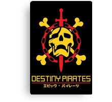Destiny Pirates Canvas Print