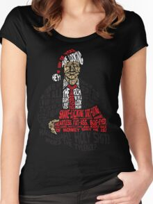 Holy Shit! Where's the Tylenol? X-Mas Women's Fitted Scoop T-Shirt