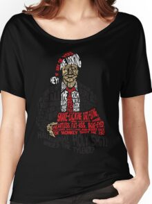 Holy Shit! Where's the Tylenol? X-Mas Women's Relaxed Fit T-Shirt