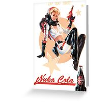 ZAP THAT THIRST Nuka Cola Greeting Card