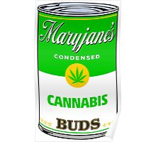 Maryjane's Condenced Cannabis Buds Poster