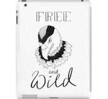free and wild2 iPad Case/Skin