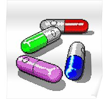 Four Tablet Capsules Poster