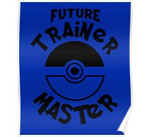 Future Trainer Monster T-Shirt Poster