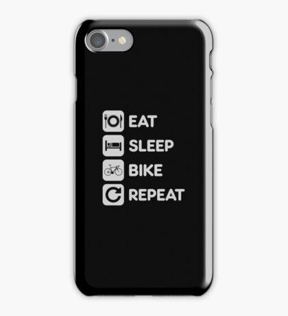 Eat Sleep Ride Repeat Mountain Bike iPhone Case/Skin