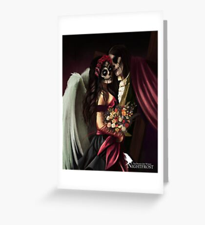 Love Beyond The Grave  Greeting Card