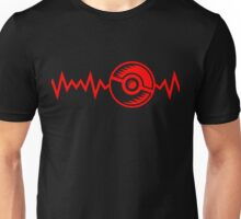Pikaball Heartbeat, Monster Ball Heartbeat Unisex T-Shirt