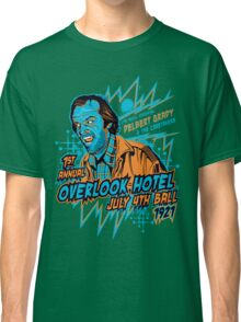 1st Annual Overlook Hotel July 4th Ball (alternate colors) Classic T-Shirt