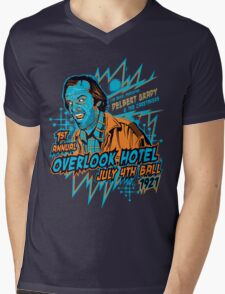 1st Annual Overlook Hotel July 4th Ball (alternate colors) Mens V-Neck T-Shirt