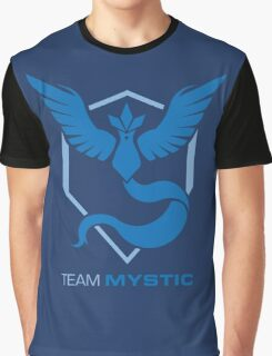 Team Mystic Logo with Text Graphic T-Shirt
