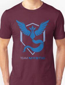Team Mystic Logo with Text Unisex T-Shirt