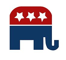 Republican Elephant  by Boogiemonst