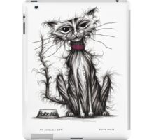 My horrible cat iPad Case/Skin