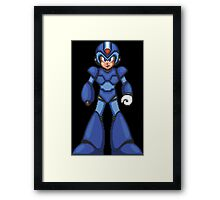Without All The Shiny X Armor Framed Print