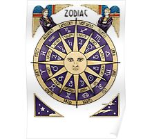 Zodiac Astrology Astral Star Sign Poster