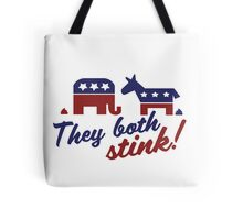 Democrats and Republicans Tote Bag
