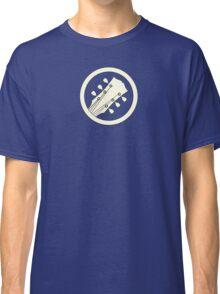Guitar player white Classic T-Shirt