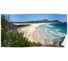 Cellito Beach, Smiths Lake NSW Poster