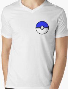 Team Mystic Poké Ball | Pokémon Go Mens V-Neck T-Shirt