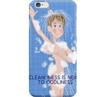 Cleanliness- His iPhone Case/Skin