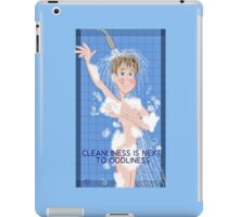 Cleanliness- His iPad Case/Skin