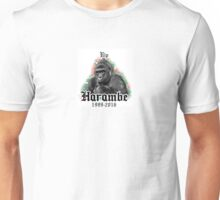 Never Forget Harambe <3 Unisex T-Shirt