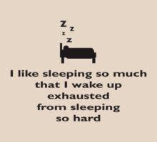 Sleep so Hard by ExplodingZombie