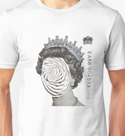 Queen Twisted Skinless Unisex T-Shirt
