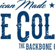 Blue Collar - The Backbone of America Sticker