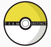 Team Instinct Poké Ball | Pokémon Go One Piece - Short Sleeve