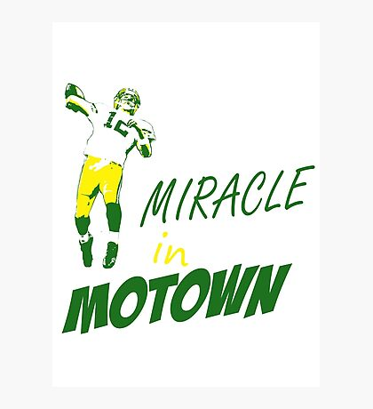 Miracle in Motown Photographic Print