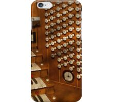 Organist - Ready at the controls iPhone Case/Skin