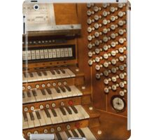 Organist - Ready at the controls iPad Case/Skin