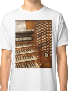 Organist - Ready at the controls Classic T-Shirt