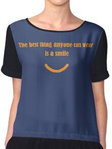 Wear A Smile Women's Chiffon Top