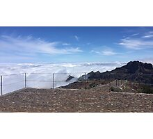 Madeira highest point Photographic Print