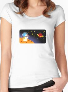 Astro Women's Fitted Scoop T-Shirt