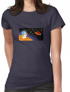 Astro Womens Fitted T-Shirt