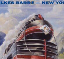 Lehigh Valley Railroad Poster Sticker