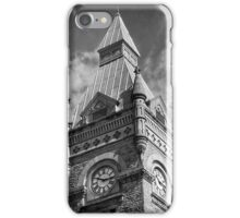 Courthouse Clock iPhone Case/Skin