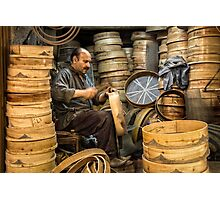 The Sieve Maker  Photographic Print