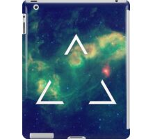 Hipster Triangle In Space iPad Case/Skin
