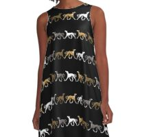 Galgowalk A-Line Dress
