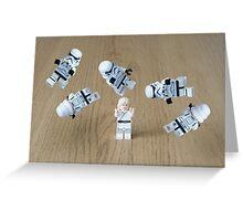 Jedi Juggle 2 Greeting Card