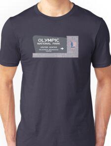 Olympic National Park Sign, Washington, USA Unisex T-Shirt