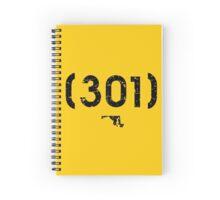 Area Code 301 Maryland Spiral Notebook
