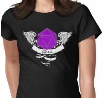Cleric Dungeons and Dragons  Womens Fitted T-Shirt