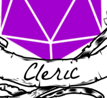 Cleric Dungeons and Dragons  Sticker
