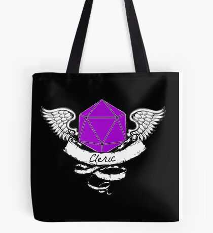 Cleric Dungeons and Dragons  Tote Bag